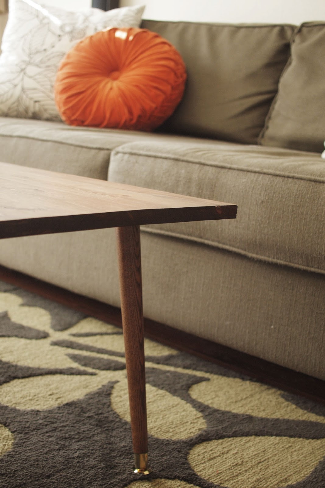Best ideas about DIY Modern Coffee Table . Save or Pin DIY Mid Century Modern Coffee Table A Pair of Pears Now.