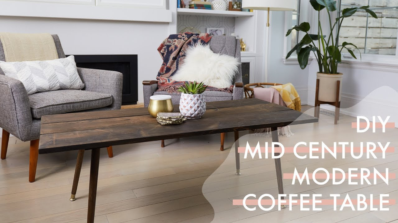 Best ideas about DIY Modern Coffee Table . Save or Pin DIY Mid Century Modern Coffee Table Now.