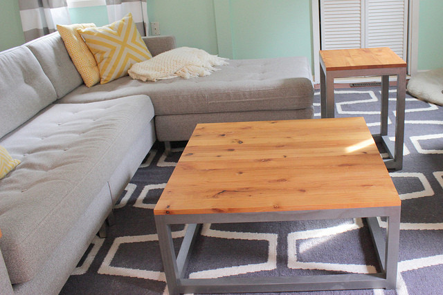 Best ideas about DIY Modern Coffee Table . Save or Pin Remodelaholic Now.