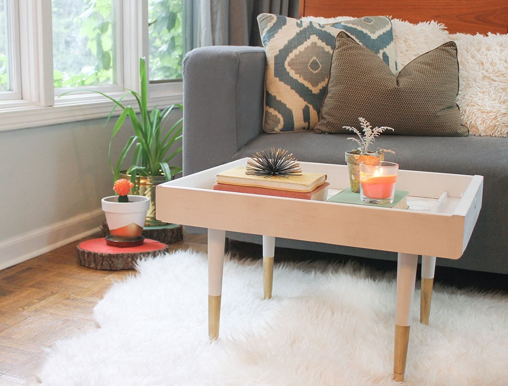 Best ideas about DIY Modern Coffee Table . Save or Pin Affordable DIY Upcycled Drawer to Modern Coffee Table Tutorial Now.