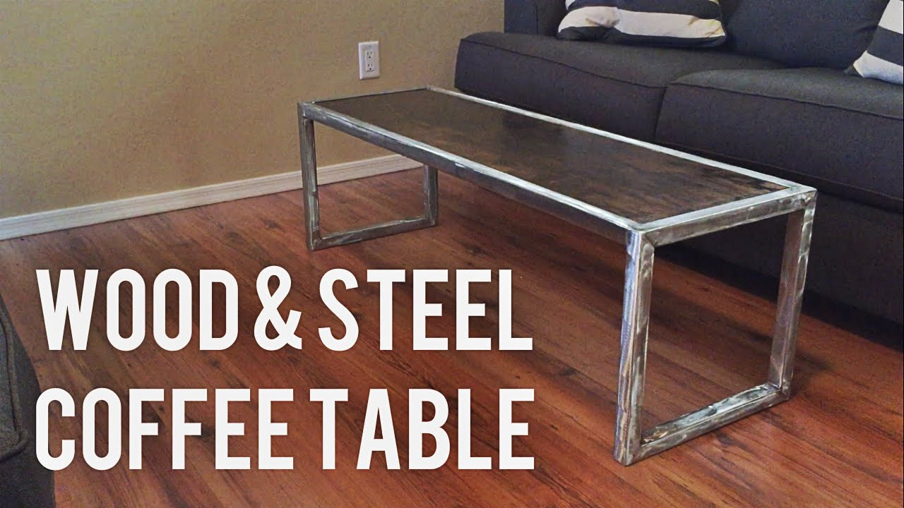 Best ideas about DIY Modern Coffee Table . Save or Pin DIY Modern Coffee Table Wood & Steel Now.