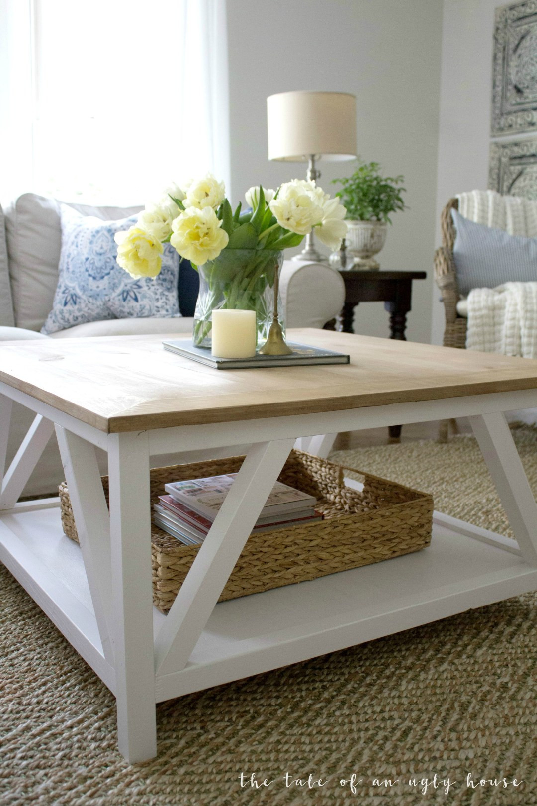 Best ideas about DIY Modern Coffee Table . Save or Pin DIY Modern Farmhouse Coffee Table Sincerely Marie Designs Now.