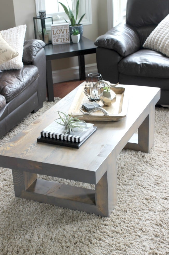 Best ideas about DIY Modern Coffee Table . Save or Pin Modern Coffee Table Build Plans Love Create Celebrate Now.