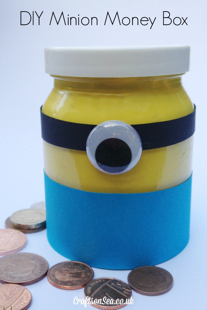 Best ideas about DIY Money Boxes . Save or Pin 21 Awesome DIY Minions Craft Ideas Now.