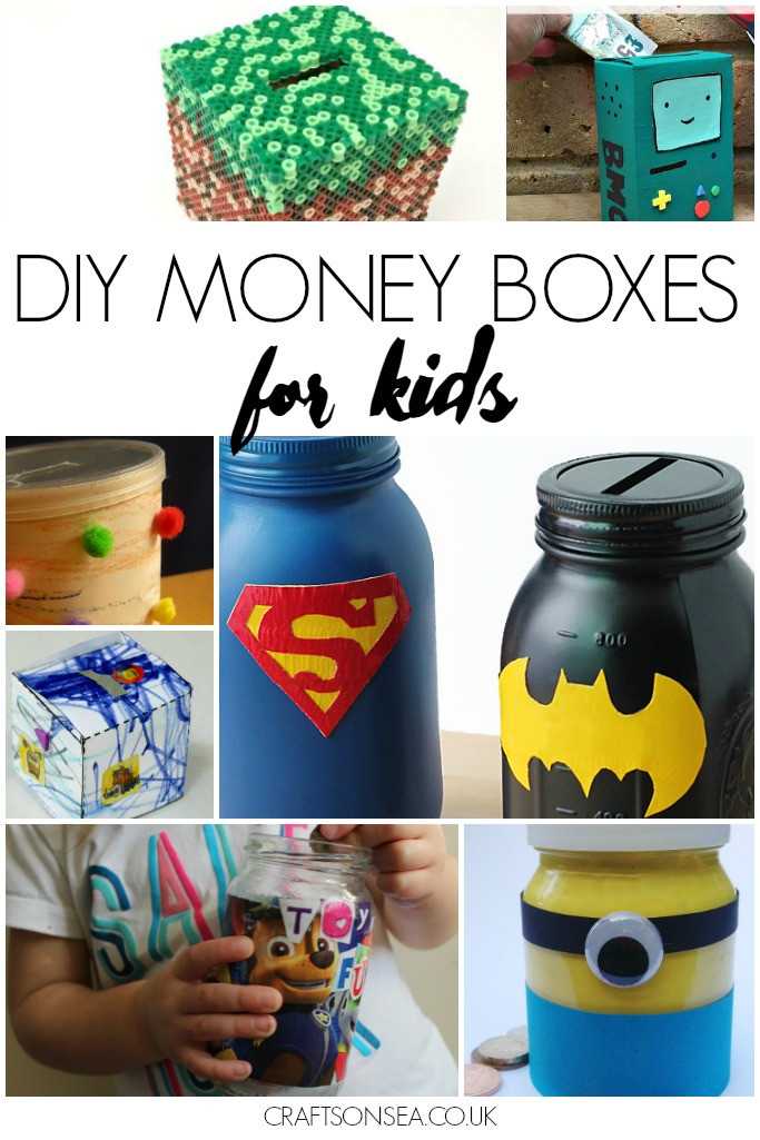 Best ideas about DIY Money Boxes . Save or Pin DIY Money Box Crafts on Sea Now.