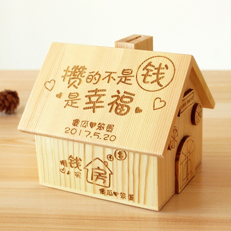 Best ideas about DIY Money Boxes . Save or Pin DIY Wooden Piggy Bank Sweet Festival Gift Christmas Now.