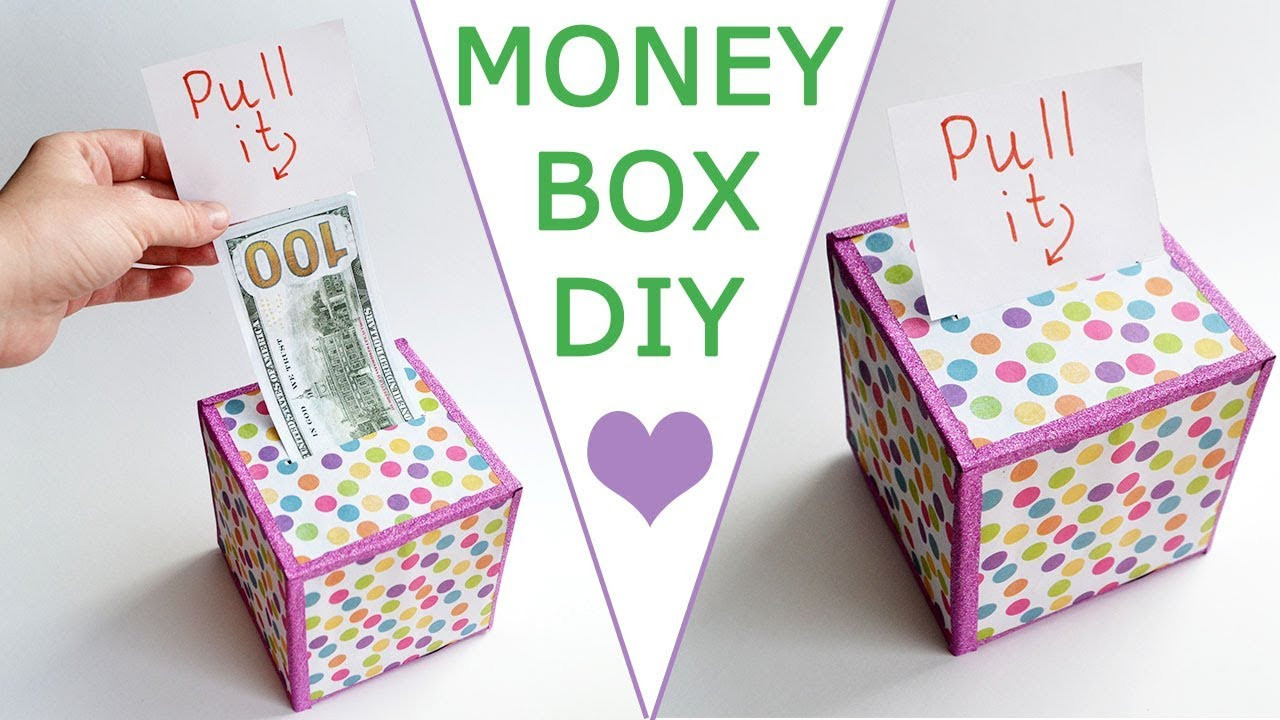 Best ideas about DIY Money Boxes . Save or Pin WOW MONEY BOX Now.
