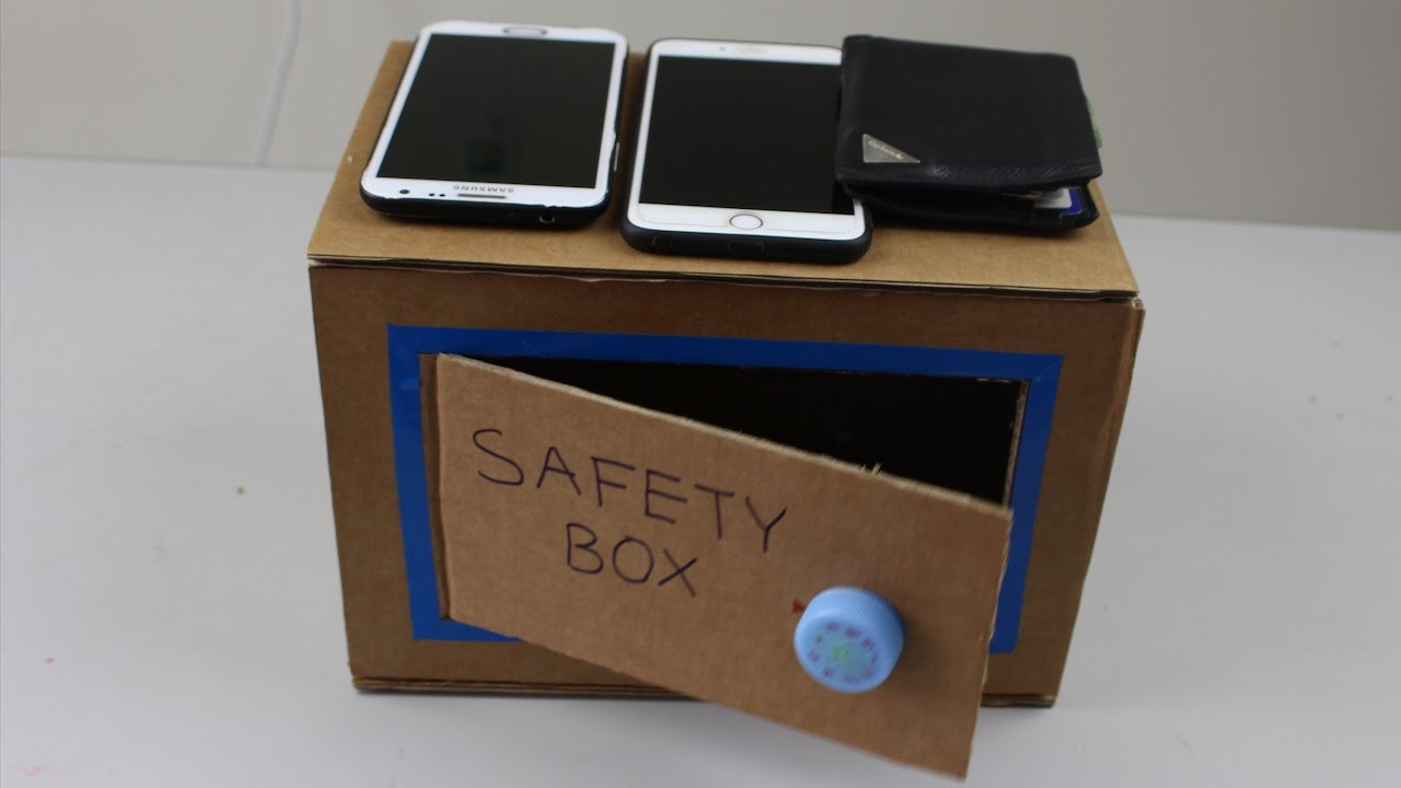 Best ideas about DIY Money Boxes . Save or Pin DIY How To Make A Money Safety Box at Home Now.