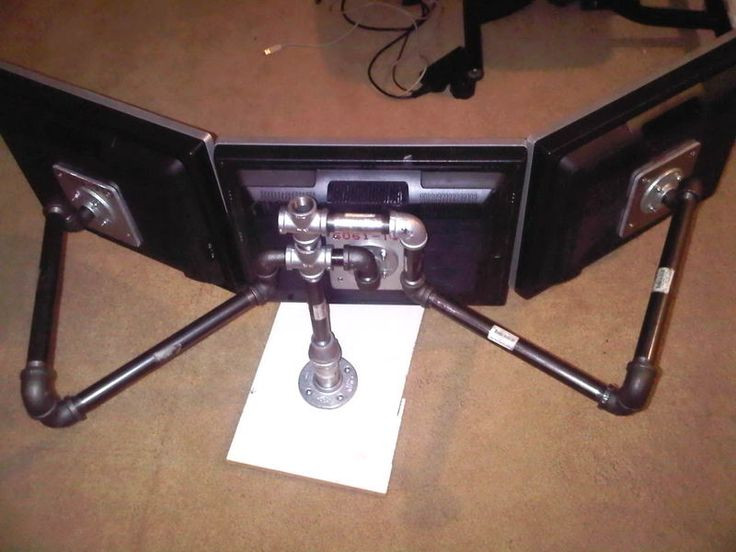 Best ideas about DIY Monitor Wall Mount . Save or Pin My DIY Multi Monitor Mount Stand [H]ard Forum Now.
