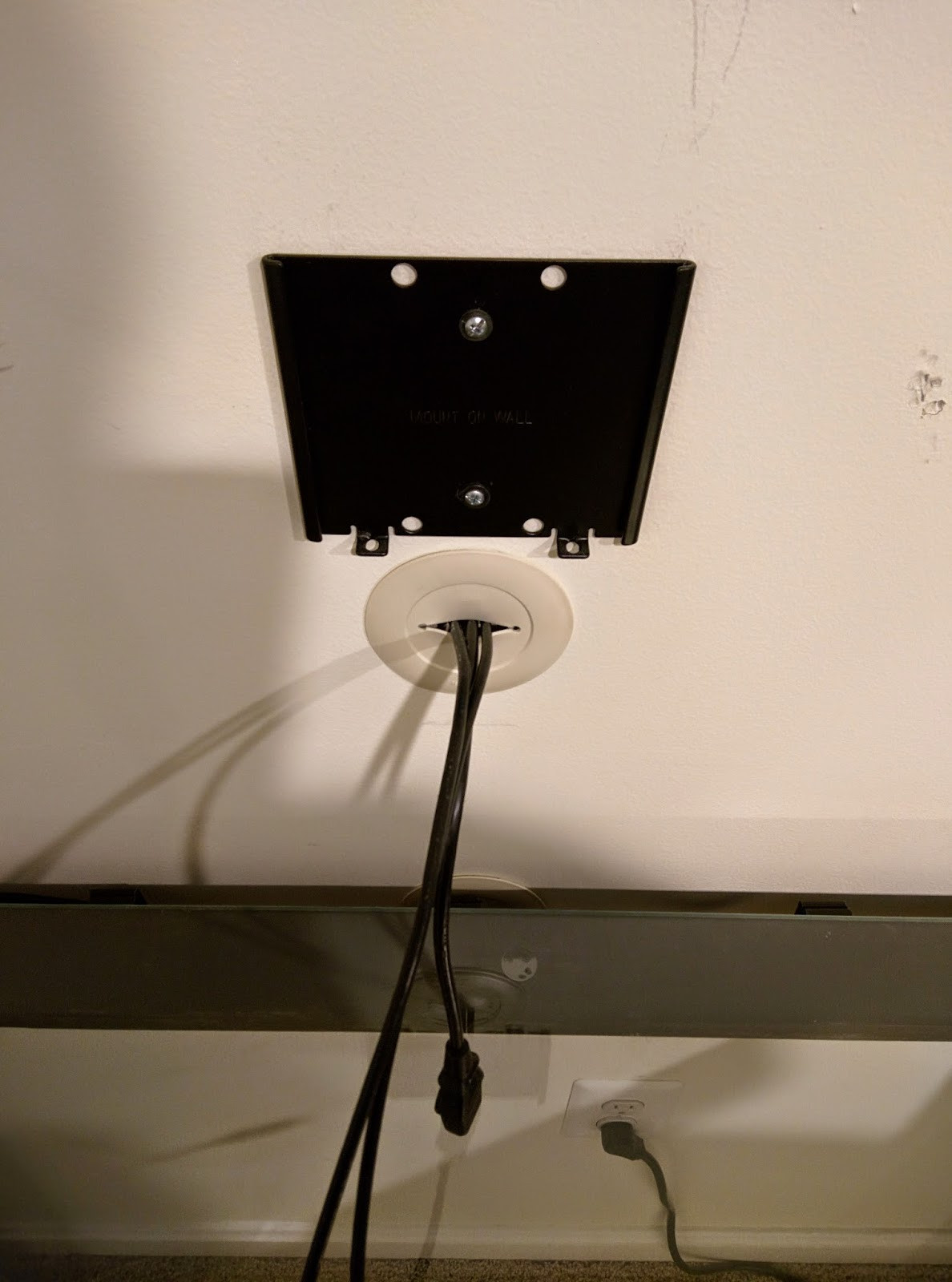 Best ideas about DIY Monitor Wall Mount . Save or Pin DIY Technology and other random stuff DIY Wall mount Now.