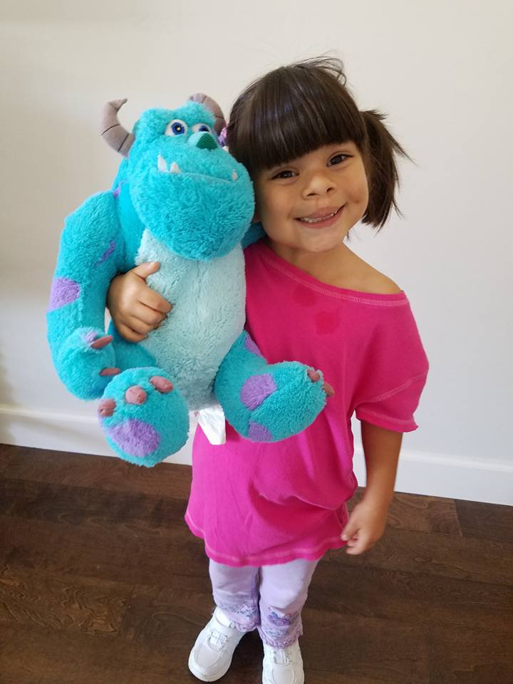 Best ideas about DIY Monsters Inc Costume . Save or Pin Boo costume Easy DIY No Sew Boo Costume for this Halloween Now.