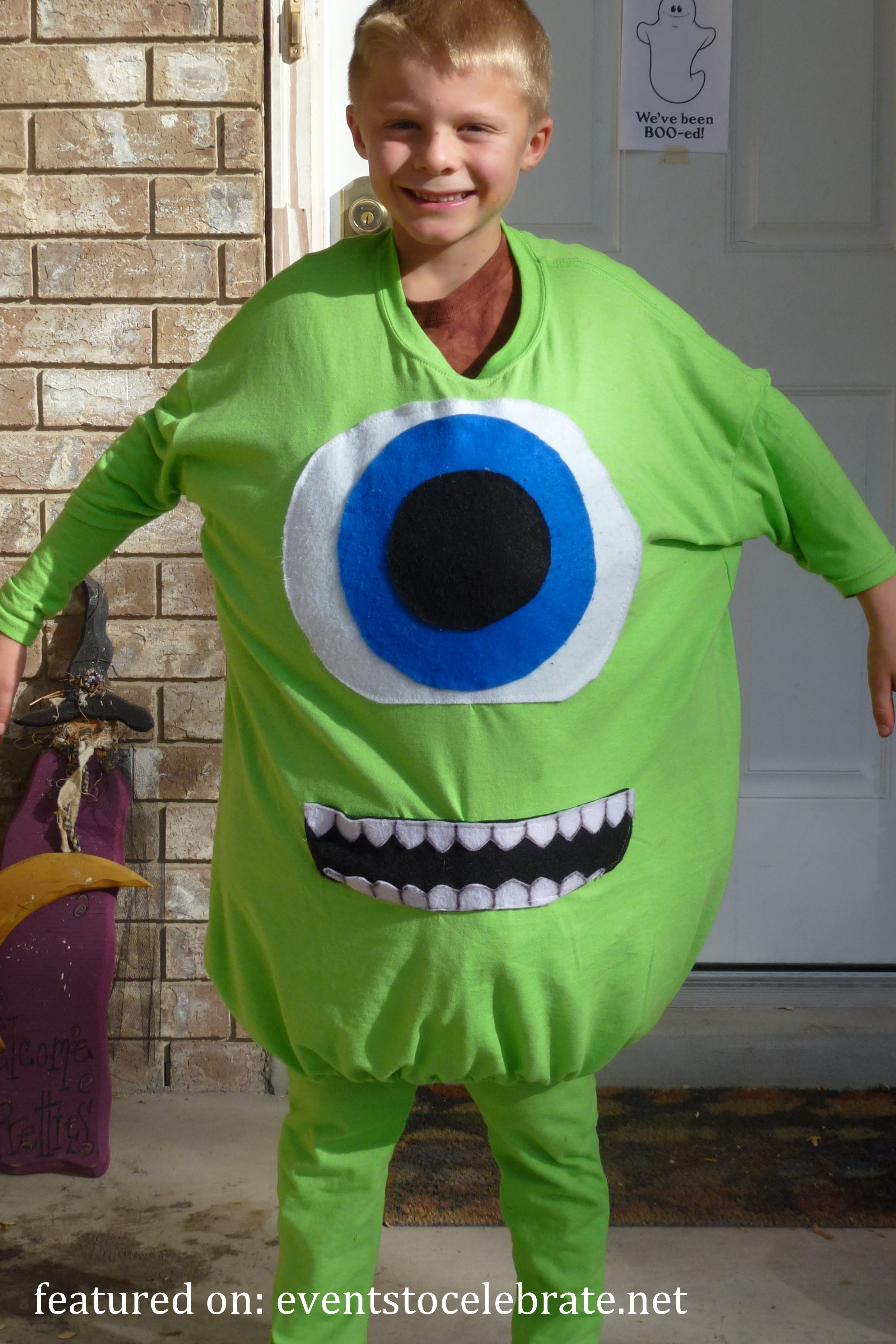 Best ideas about DIY Monsters Inc Costume . Save or Pin DIY Halloween Costumes events to CELEBRATE Now.