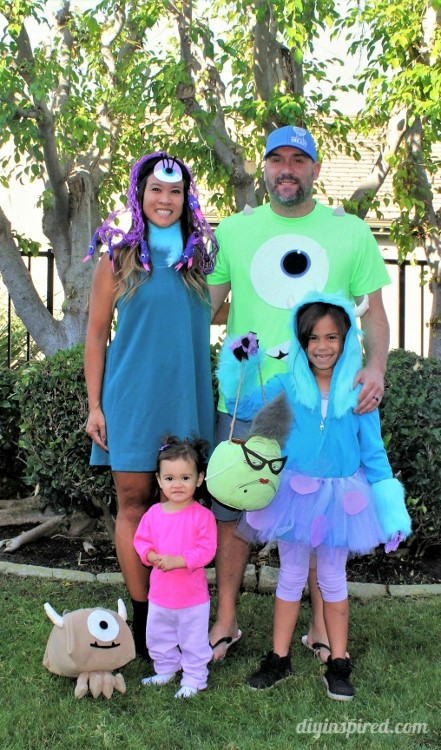 Best ideas about DIY Monsters Inc Costume . Save or Pin Monster's Inc Family Halloween Costumes DIY Inspired Now.