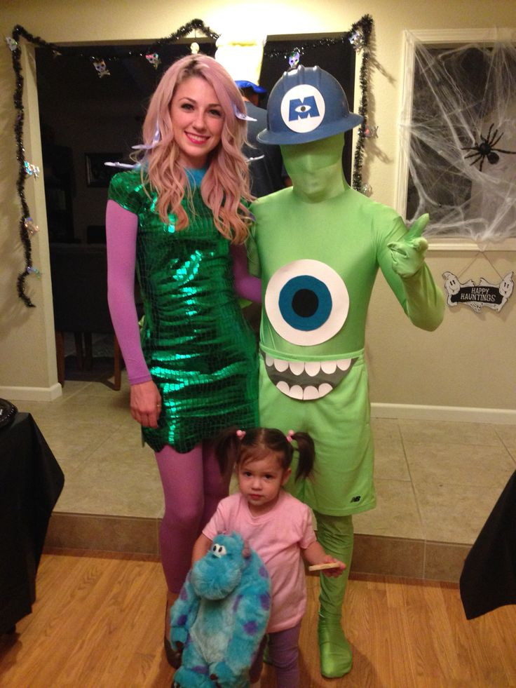 Best ideas about DIY Monsters Inc Costume . Save or Pin Mike Wazowski Celia and Boo costumes from Monsters Inc Now.