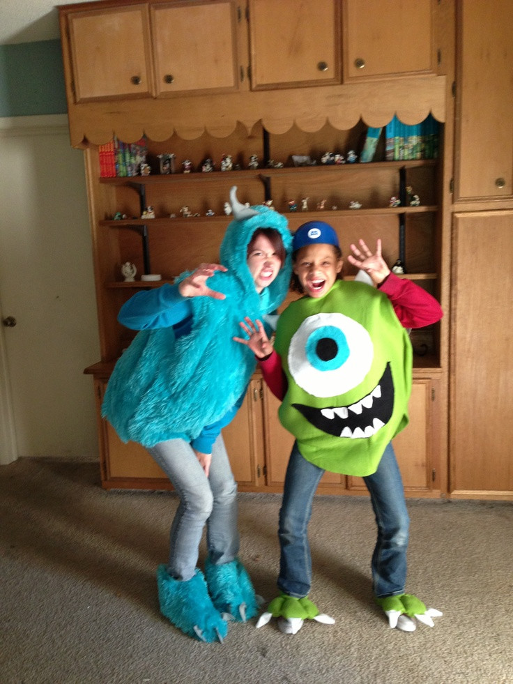 Best ideas about DIY Monsters Inc Costume . Save or Pin Proof costumes can be homemade Check out our Monster Inc Now.