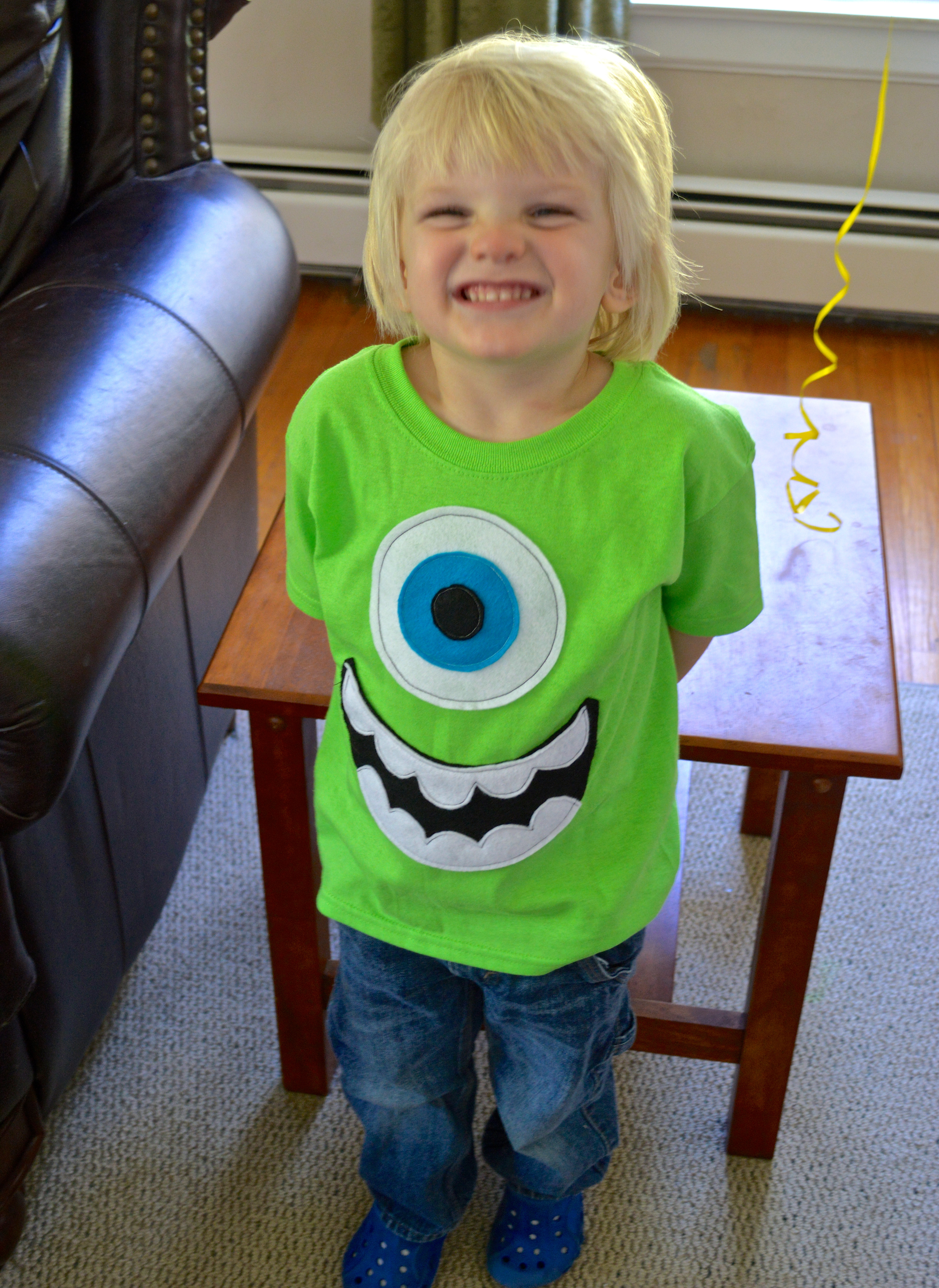 Best ideas about DIY Monsters Inc Costume . Save or Pin Mike Wazowski Shirt Now.