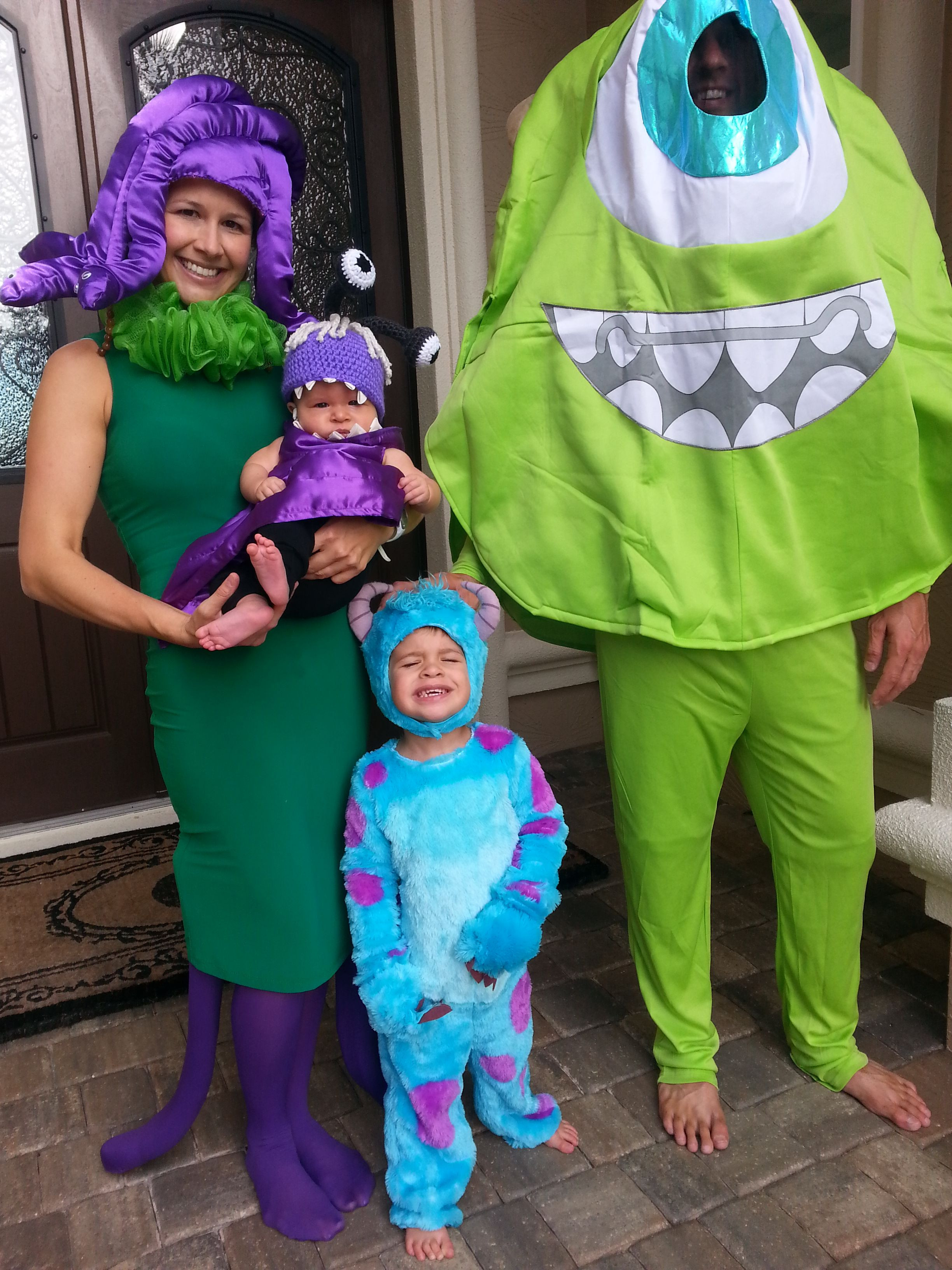 Best ideas about DIY Monsters Inc Costume . Save or Pin monsters inc celia costumes Buscar con Google Now.