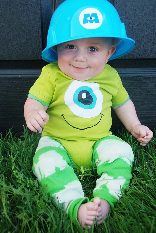 Best ideas about DIY Monsters Inc Costume . Save or Pin Be Different Act Normal October 2012 Now.