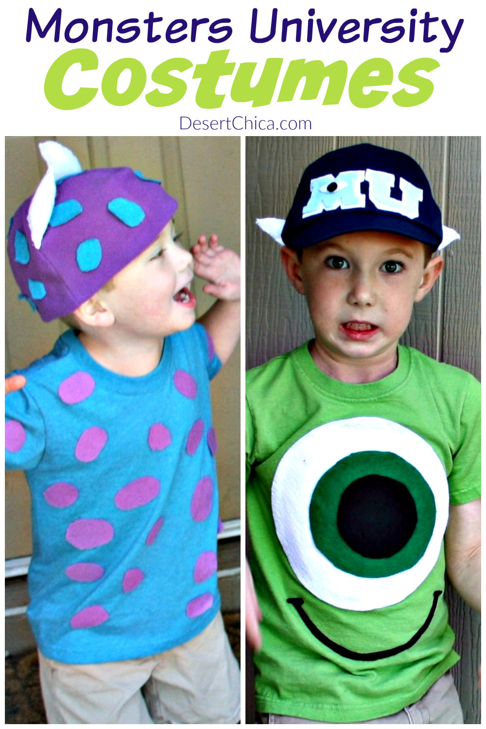 Best ideas about DIY Monsters Inc Costume . Save or Pin DIY Monsters University Costumes Now.