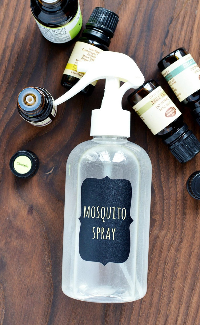 Best ideas about DIY Mosquito Yard Spray . Save or Pin DIY Mosquito Repellent Spray Homemade Bug Spray Now.