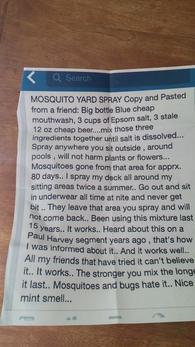 Best ideas about DIY Mosquito Yard Spray . Save or Pin Natural And Economical Way To Rid Your Yard Pesky Now.