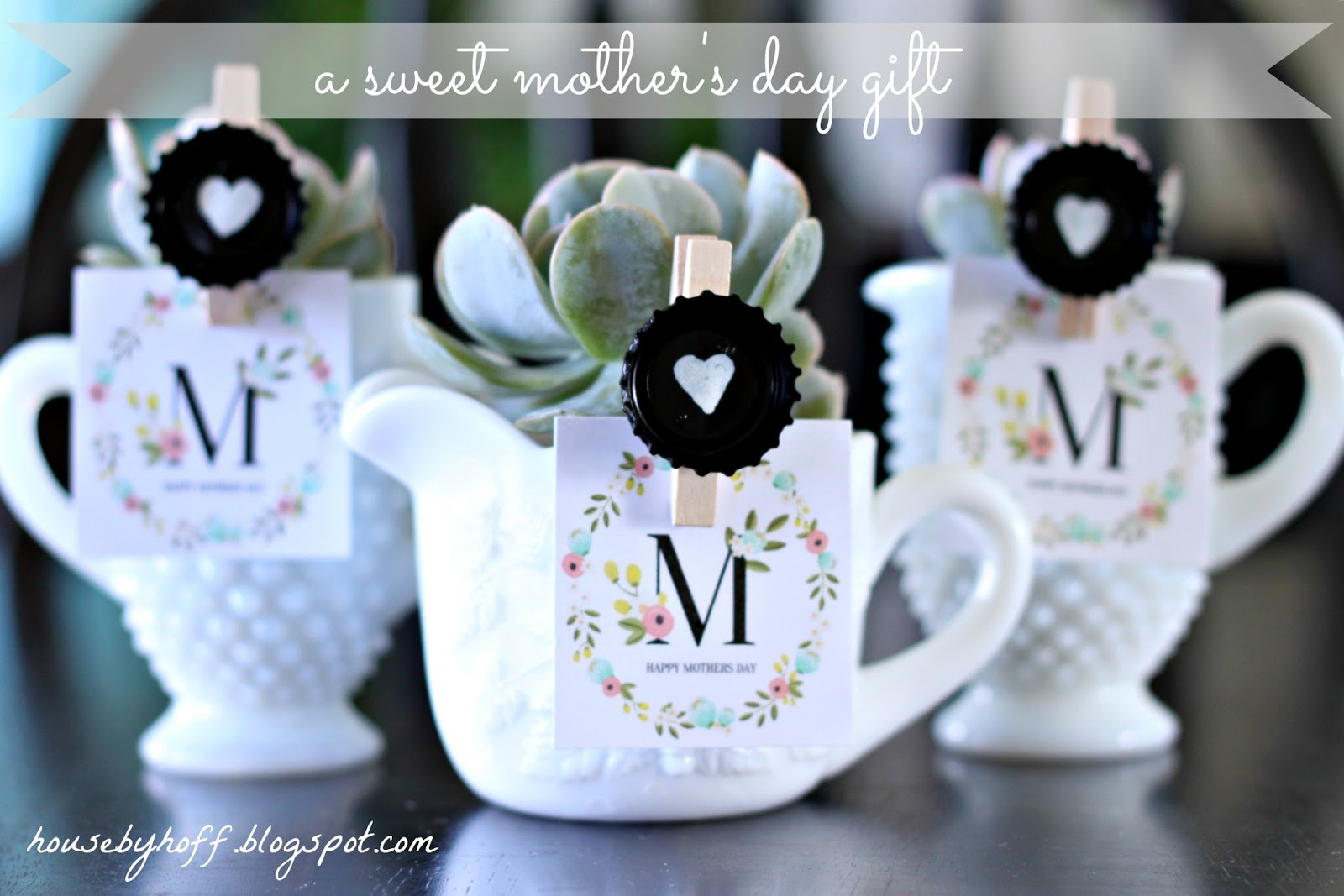 Best ideas about DIY Mother'S Day Gifts . Save or Pin A Sweet Mother s Day Gift House by Hoff Now.