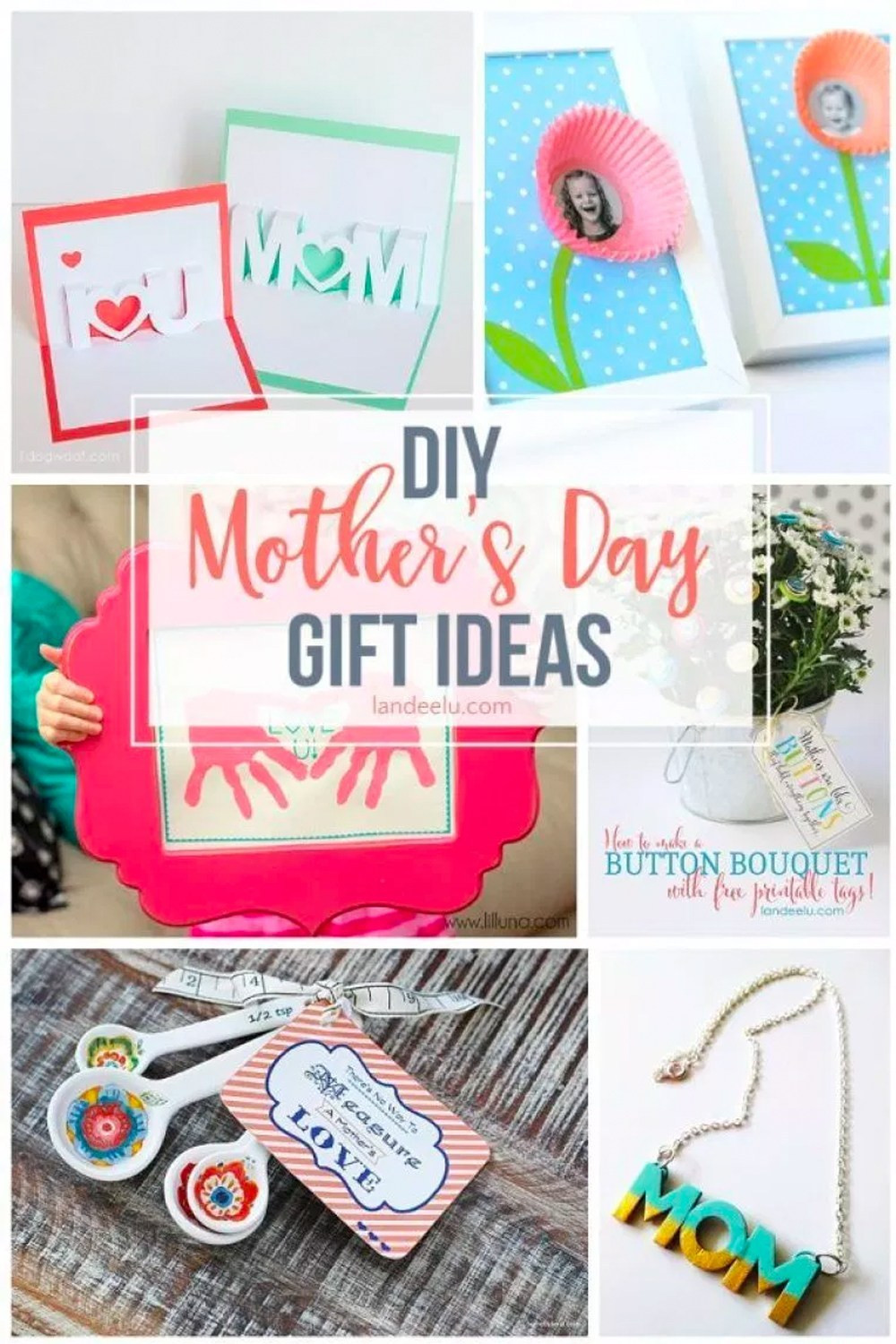 Best ideas about DIY Mother'S Day Gifts . Save or Pin DIY Mothers Day Gift Ideas landeelu Now.