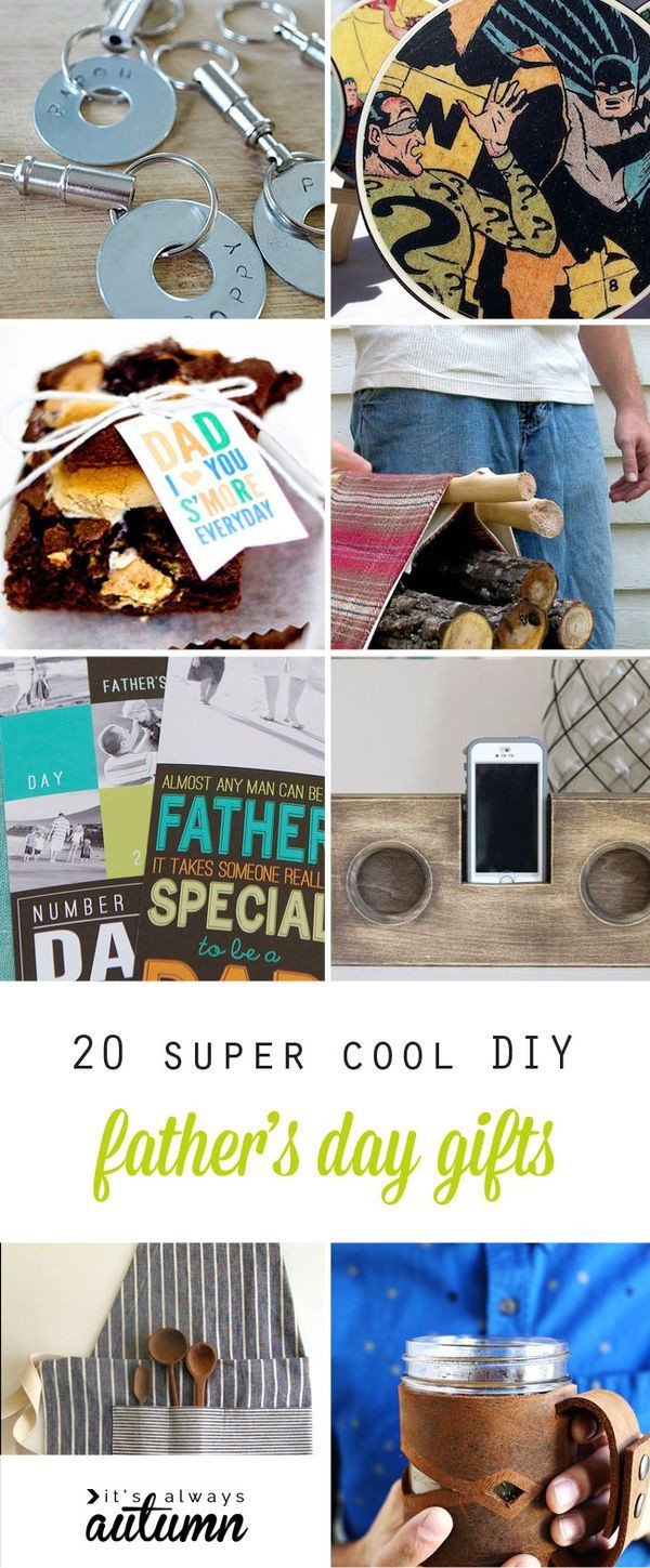Best ideas about DIY Mother'S Day Gifts . Save or Pin 20 super cool handmade Father s Day Gifts DIY for Dad Now.