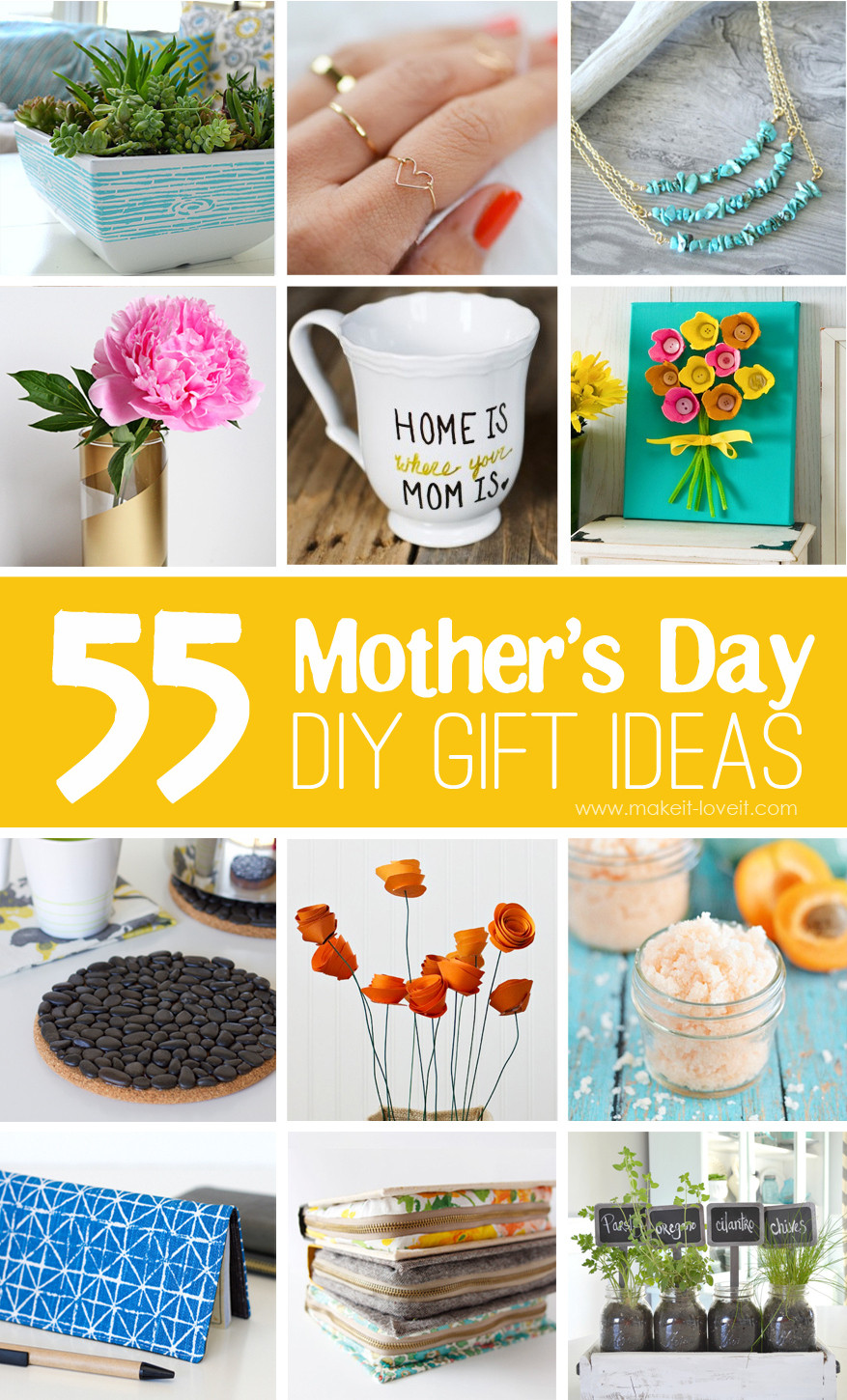 Best ideas about DIY Mother'S Day Gifts . Save or Pin 55 Mother s Day DIY Gift Ideas Now.