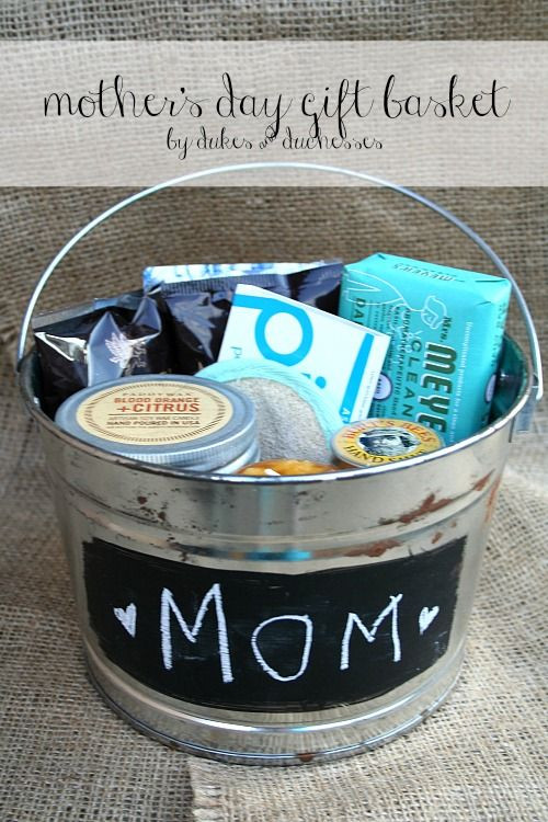 Best ideas about DIY Mother'S Day Gifts . Save or Pin Gift baskets Mother day ts and Mother s day on Pinterest Now.