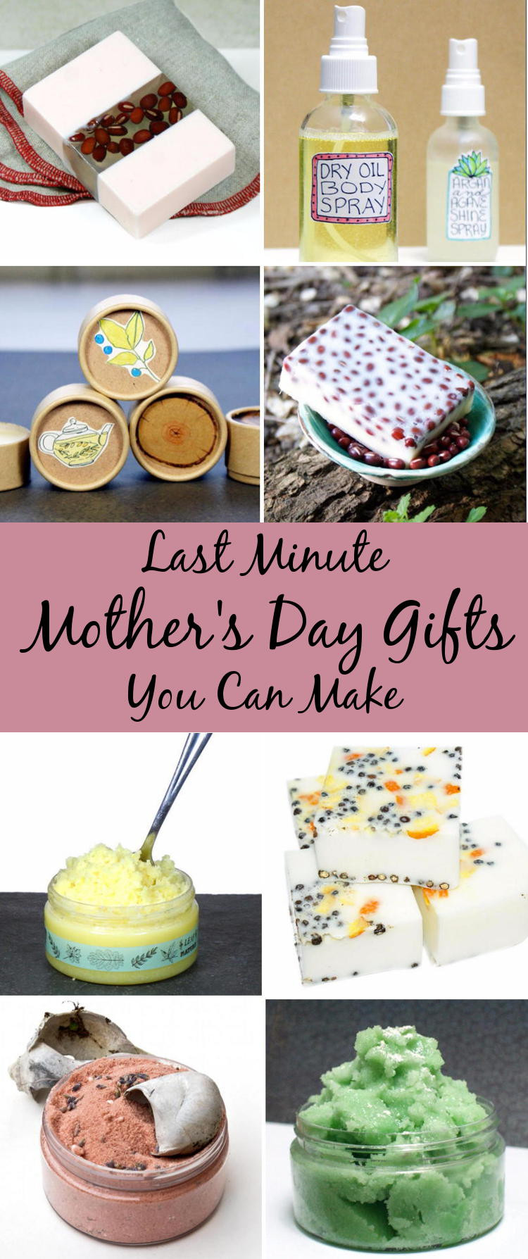 Best ideas about DIY Mother'S Day Gifts . Save or Pin Last Minute Mother s Day Gift Ideas Soap Deli News Now.