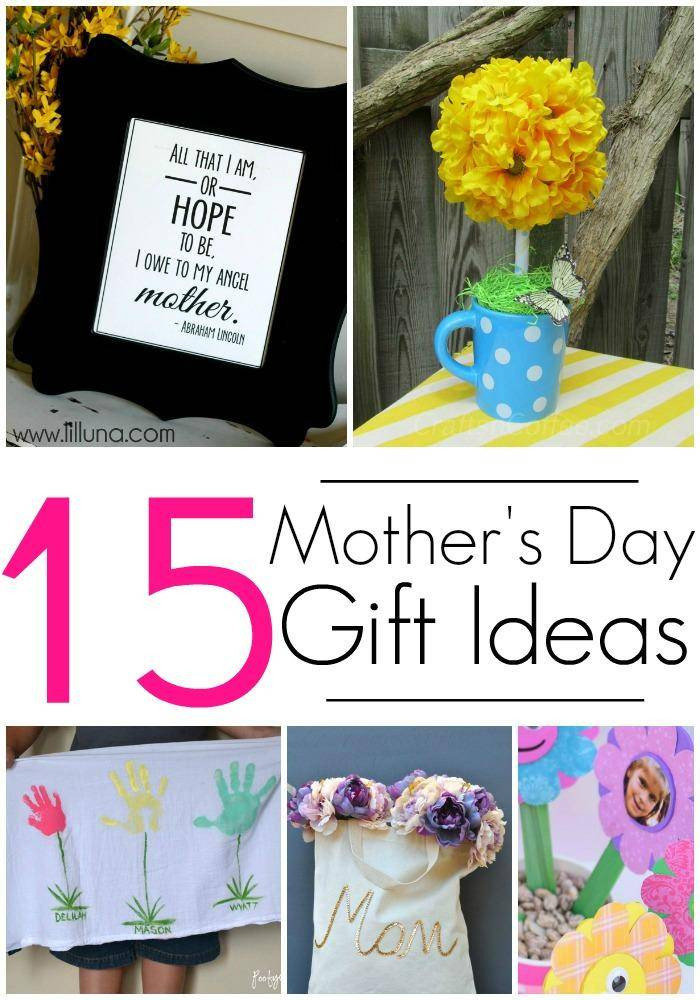 Best ideas about DIY Mothers Day . Save or Pin 15 DIY Gift Ideas for Mothers Day Crafts & Homemade Gifts Now.