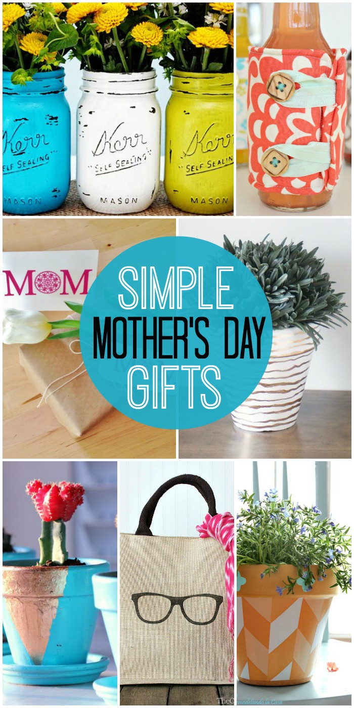 Best ideas about DIY Mothers Day . Save or Pin Simple DIY Mother s Day Gifts Now.