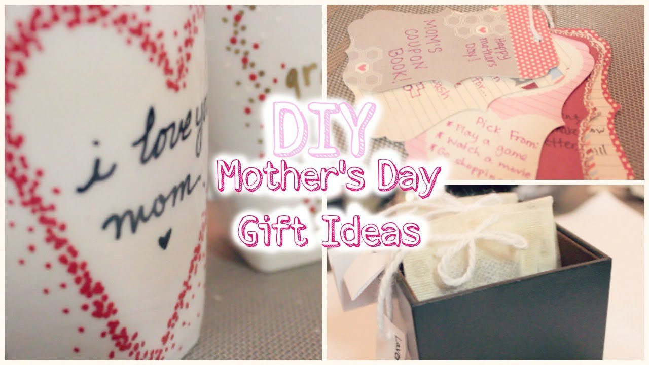 Best ideas about DIY Mothers Day . Save or Pin DIY Mother s Day Gift Ideas Now.