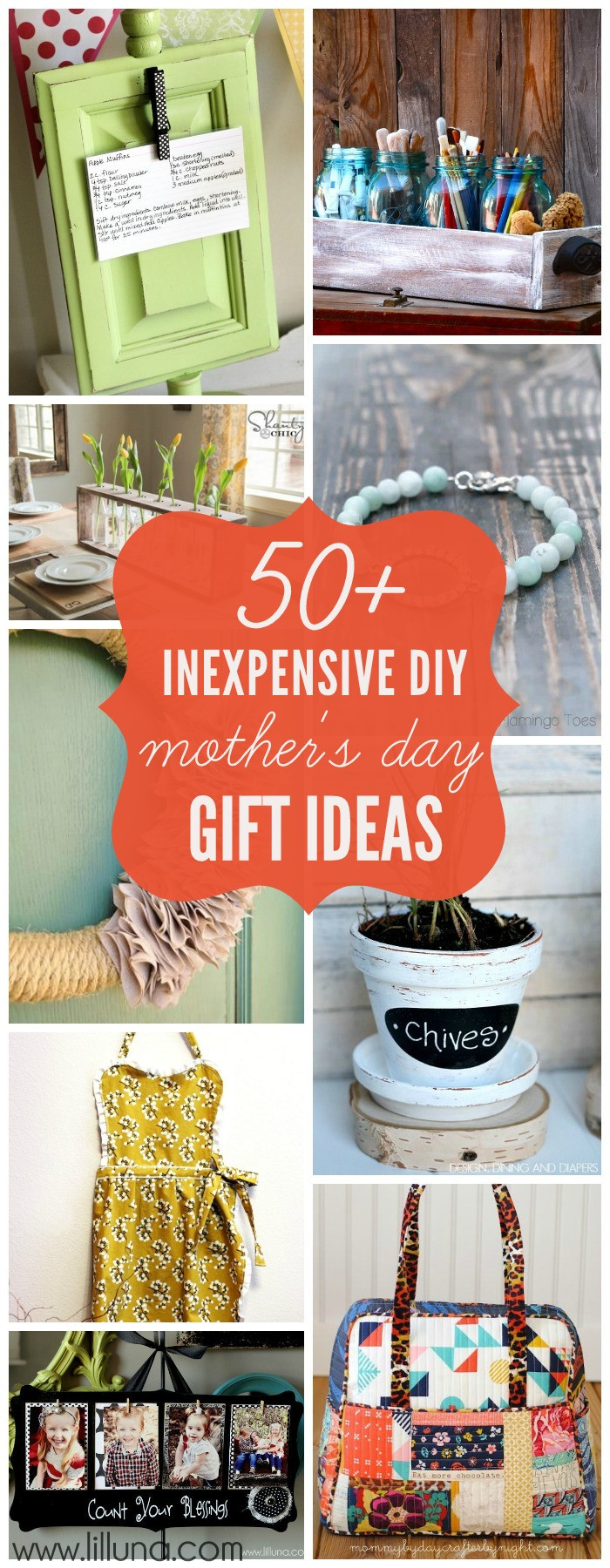 Best ideas about DIY Mothers Day . Save or Pin Inexpensive DIY Mother s Day Gift Ideas Now.