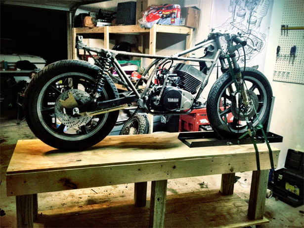 Best ideas about DIY Motorbike Lift . Save or Pin DIY Motorcycle Table Lift Now.