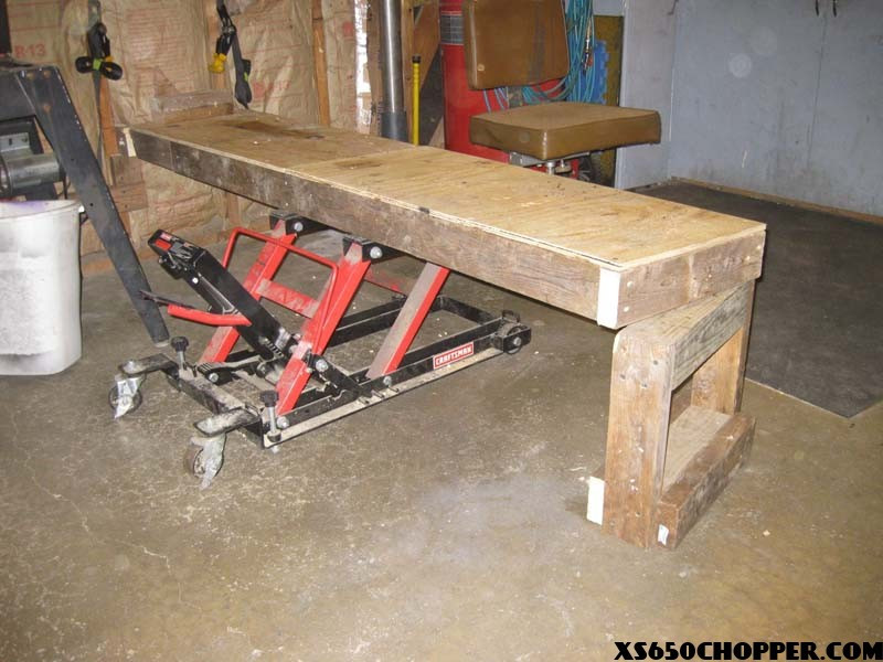 Best ideas about DIY Motorbike Lift . Save or Pin The Best homemade Bike Table Ever Now.