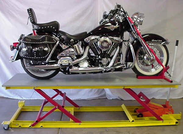 Best ideas about DIY Motorbike Lift . Save or Pin Homemade moto table lifts Now.