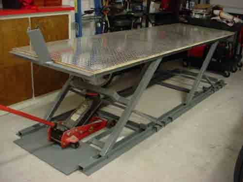 Best ideas about DIY Motorcycle Lift Table . Save or Pin diy lift table Recherche Google Now.