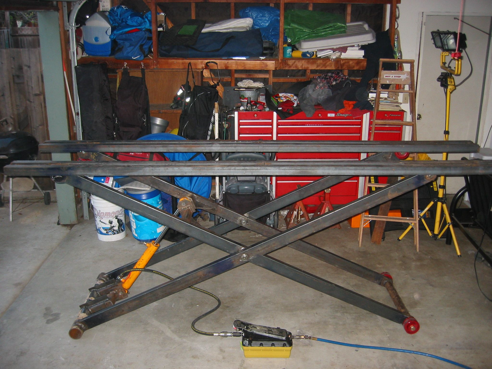 Best ideas about DIY Motorcycle Lift Table . Save or Pin diy lift table Google Search Now.