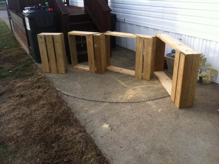 Best ideas about DIY Movable Stairs And Landing Small . Save or Pin Unique Wooden Portable Steps for Your Travel Trailer Now.