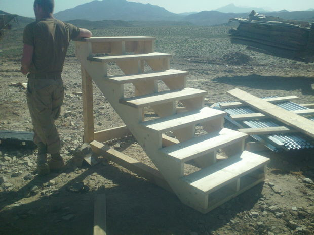 Best ideas about DIY Movable Stairs And Landing Small . Save or Pin Self Standing Staircase 7 Steps with Now.
