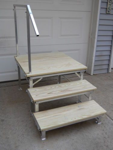 Best ideas about DIY Movable Stairs And Landing Small . Save or Pin 17 Best images about RV and Camping on Pinterest Now.