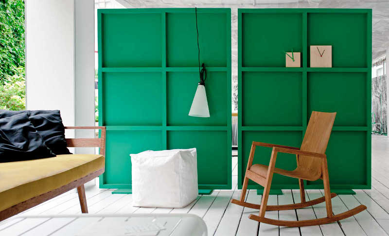 Best ideas about DIY Movable Wall . Save or Pin studiopepe s fab green moveable room dividers diy Now.