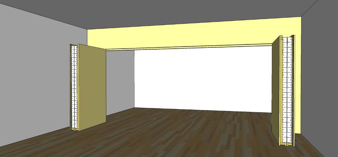 Best ideas about DIY Movable Wall . Save or Pin Forum Challenge A Movable Wall Gearslutz Pro Audio Now.