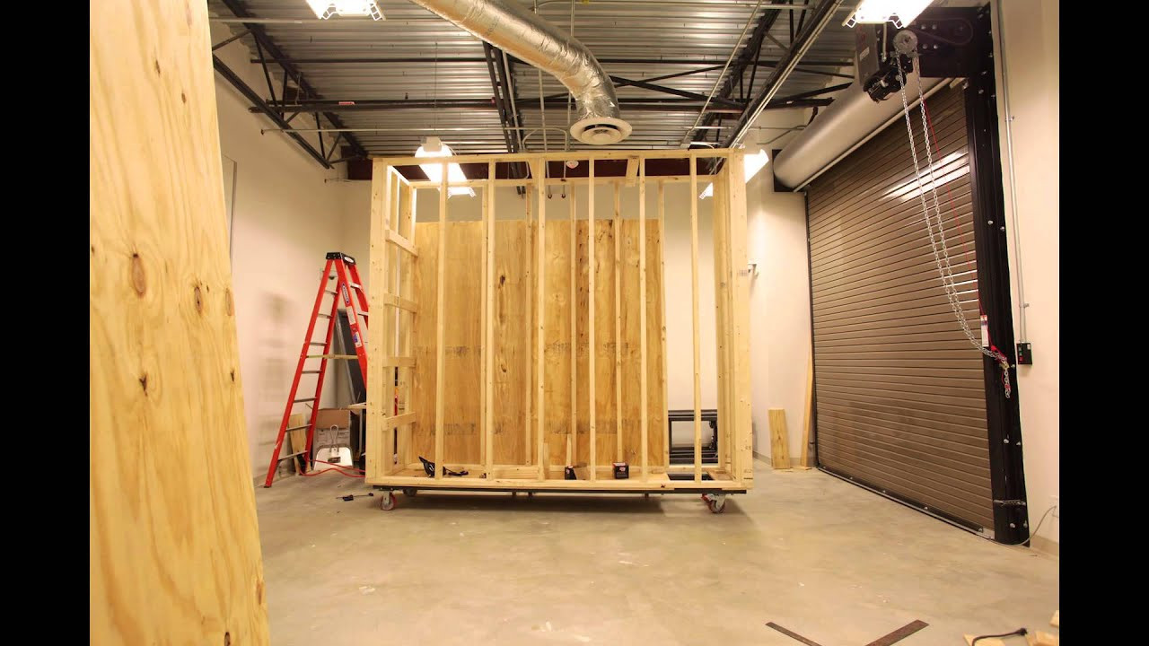 Best ideas about DIY Movable Wall . Save or Pin Movable walls build out for Art Museum of West Virginia Now.