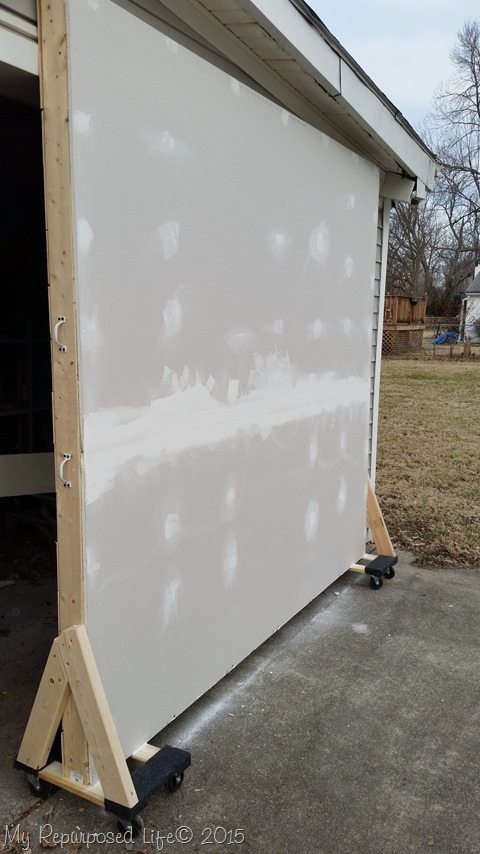 Best ideas about DIY Movable Wall . Save or Pin graphy Backdrops and Floors My Repurposed Life™ Now.