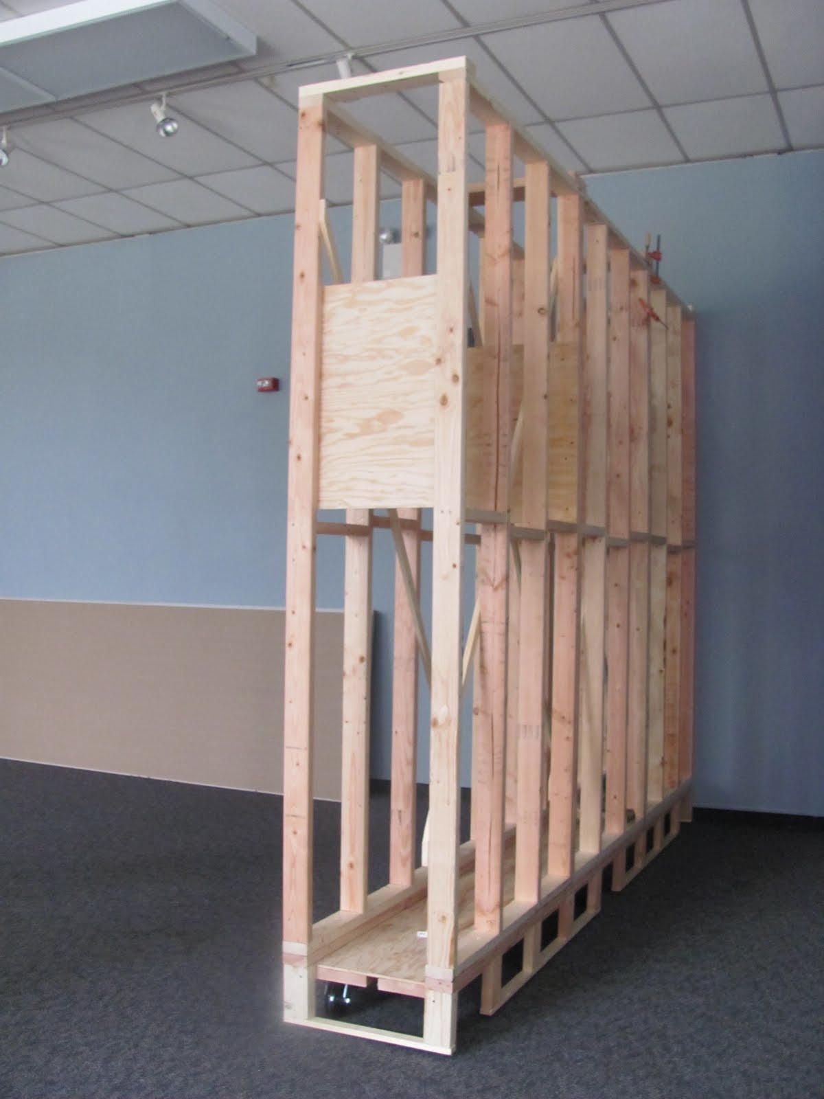 Best ideas about DIY Movable Wall . Save or Pin Philadelphia Sculpture Gym Who the heck are we Now.