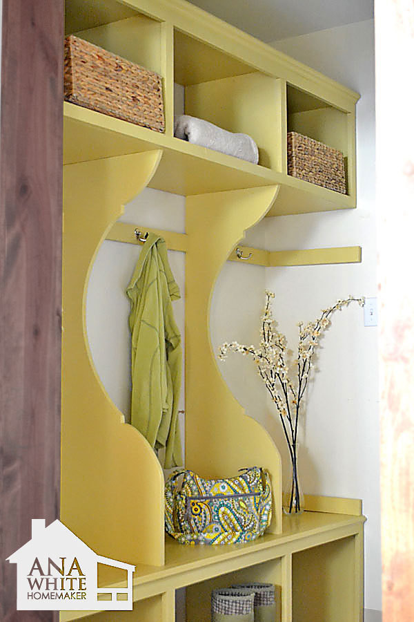 Best ideas about DIY Mudroom Lockers Plans . Save or Pin Ana White Now.