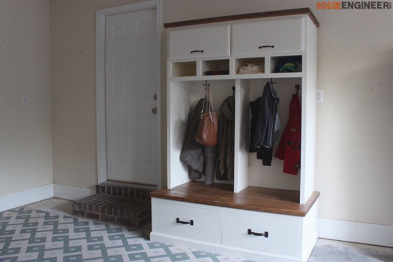 Best ideas about DIY Mudroom Lockers Plans . Save or Pin Mudroom Lockers with Bench Free DIY Plans  Now.